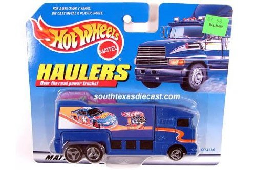 Hot Wheels Racing Hauler Pack Over The Road Power Trucks