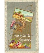 Thanksgiving Greetings Vintage 1911 Post Card - $5.00