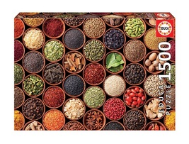 """NEW Educa Jigsaw Puzzle Game 1500 Pieces Tiles """"Herbs and Spices"""" - $53.89"""