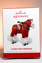 Hallmark: A Pony for Christmas - Series 16th - 2013 Ornament - $13.95