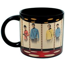 STAR TREK Mug Heat Activated Transporter Room Coffee Transforming Energize ! OOP image 5