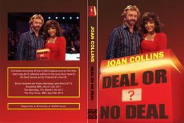 JOAN COLLINS - CELEBRITY DEAL OR NO DEAL DVD - $23.50