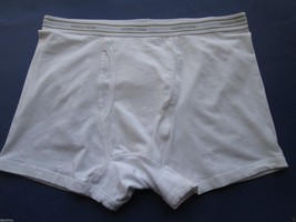 Nordstrom 2-Pack Trim Fit Stretch Cotton Men's Trunk Boxer White XL (38-42) - $12.15
