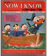 Walt Disney's Now I Know #46 1973-U.K-Donald Duck-G - $31.53