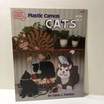 Cats Plastic Canvas Pattern Book American School of Needlework - $9.74