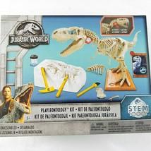 Jurassic World Playleontology Kit STEM T-Rex Bones Mattel FTF12 - $16.82