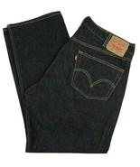 Levi's 501 Original Fit Button Fly Straight Leg Black Jeans Men's Size W... - $29.65