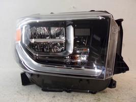 2018 Toyota Tundra Passenger Rh Full Led Headlight Oem 9 - $339.50