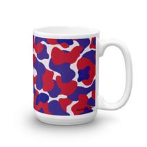 Red White Blue Camouflage Mug (Hattrick Novelties) - $11.99+