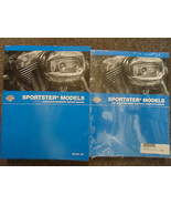 2008 Harley Davidson Sportster Service Repair Shop Manual Set New W Elec... - $256.81