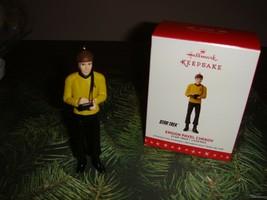 Hallmark 2016 Ensign Pavel Chekov Star Trek Legends Ornament Limited Edition - $33.99