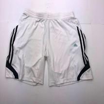 Adidas Men's Medium White Athletic Short - $16.81