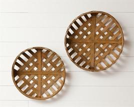 Set 2 Hanging Tobacco Baskets - $42.00