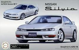 Fujimi Model 1/24 Inch Up Series No.84 Nissan S14 Sylvia K's Aero '... - $98.85