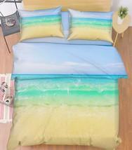 3D Vast Blue Sea Bed Pillowcases Quilt Duvet Cover Set Single Queen King Size AU - $90.04+
