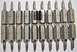 "Bosch 2610000921 T7 x 1"" Insert Bits Screw Tips 20pcs. - $4.36"