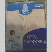 HALO SleepSack 100% Cotton 2 pack Gray Pink Feather Medium 6M -12 NEW - $38.61