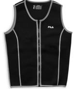 FILA Accessories Mens Sauna Vest XL Neoprene Sweat Suit Zipper Tank Top - $31.68