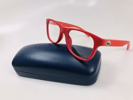 New LACOSTE KIDS L3620 615 Matte Red Eyeglasses 48mm with Case & Cloth - $69.23