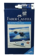Faber-Castell Artist Water Colors - Pack of 12 (Assorted) Painting Color... - $19.99