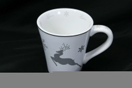 "St Nicholas Square Reindeer Believe Mug 4.5"" Tall - $19.55"
