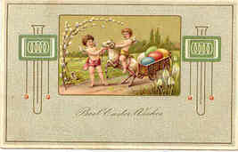 Best Easter Wishes Paul Finkenrath of Berlin Post Card - $6.00