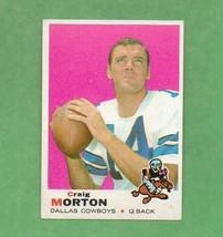 1969 Topps Craig Morton Cowboys - $3.99