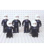 Lego 6 Jack Stone Minifigures Figures Police Policemen - $10.95