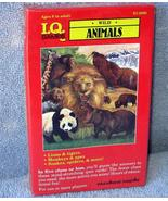 Card Game  *ANIMAL IQ QUIZ GAME*   Jungle, Ocean, Tundra, Forest     NIB... - $5.93