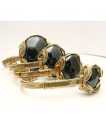 Wire Wrapped Hematite Silver /14kt Gold Filled ... - $250.00