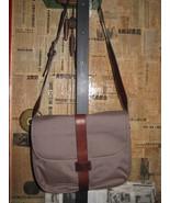 Ellington Portland canvas leather messenger bag -As Is- - $121.16