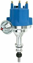 Pro Series R2R Distributor for Ford I6 Engine, 5/16 Hex Shaft, Blue Cap