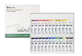 Montmar Art Watercolor Water Colour Paint Painting 24 Colors 12ml Tubes Set