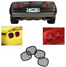 C4 Corvette Tail Light Louver Cover Kit Fits: 91 thru 96 Corvettes - $43.99