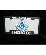 License Plate Frame Yes, I AM an Indigo! - $10.00
