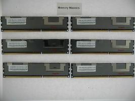 48GB (6X8GB) MEMORY FOR HP PROLIANT BL460C G6 BL460C G7 BL490C G6