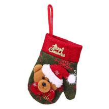 (04)Christmas Cutlery Holder Glove Knife Fork Tableware Bag Xmas Decorat... - $14.00