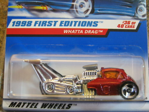 1998 Hot Wheels First Editions # 36 of 40 Cars!