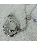 New Nambe Eternal Link Pendant Sterling Silver Necklace JT0112-00 Dillar... - $132.77