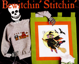 Bewitchin' Stitchin' Counted Cross Stitch  Leisure Arts #635 Nos - $4.00