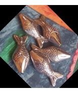 destash 1 pewter fish huge for u to exercise your art - $10.00