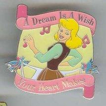 Disney Cinderella song retired rare PIN/PINS - $16.51