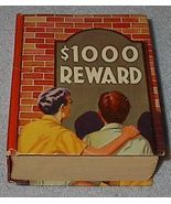 Big Little Style Book $1000 Reward A Detective Story for Boy - $15.00