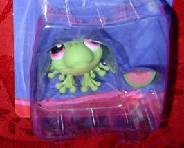 Littlest Pet Shop Frog with watermelon single #283 LPS - $8.00
