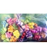 destash  a bag of acrylic colourful elephants  - $10.00