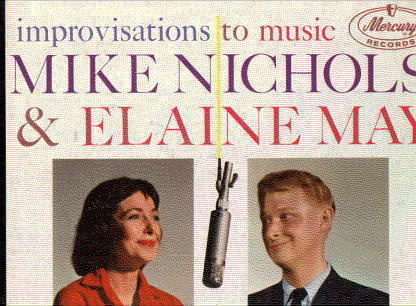 Primary image for MIKE NICHOLS ELAINE MAY LP Improvisations To Music