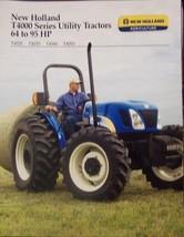 2008 New Holland T4020, T4030, T4040, T4050 Tractors Brochure - $6.00