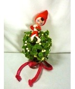 Napco Pixie Mistletoe Kissing Ball Christmas Decor Hanging Ornament - $12.95