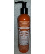 Dr. Bronner's ORANGE LAVENDER Organic Hand Body Lotion Soothing 8 oz/237... - $18.81