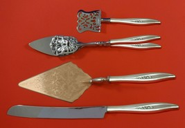Twilight by Oneida Sterling Silver Dessert Serving Set 4pc Custom Made - $299.00